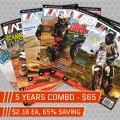 ADVMoto Back Issues 5 Years Combo