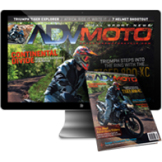 ADVMoto Gift Sub Print - 2 Years (12 Issues)
